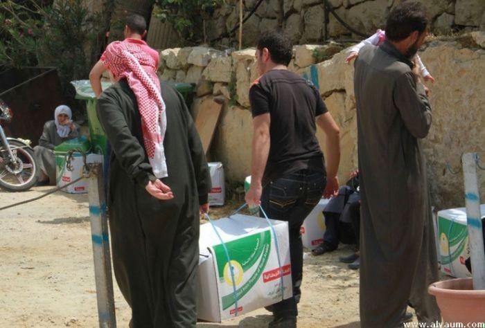 الحملة الوطنية السعودية لنصرة الاشقاء في سوريا تواصل مشروعها الرمضاني