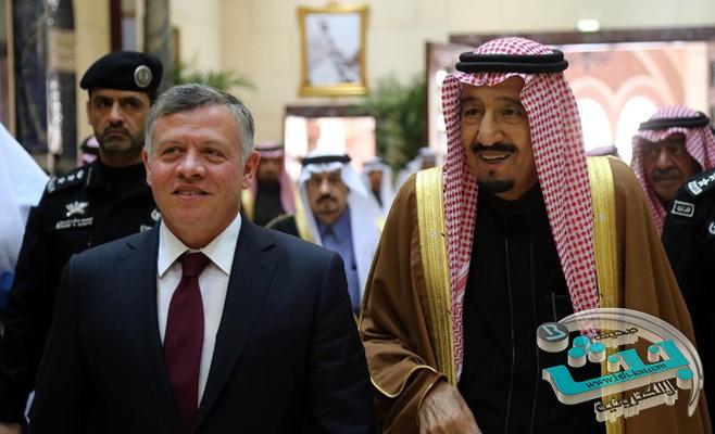 الملك عبدالله الثاني يحضر ختام مناورات رعد الشمال بجوار أخيه خادم الحرمين الشريفين وعدد من قادة الدول