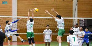 الهلال والخويلدية في ختام مهرجان براعم المستقبل لكرة الطائرة