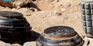 مسام تنتزع أكثر من 2000 لغم في اليمن خلال أسبوع