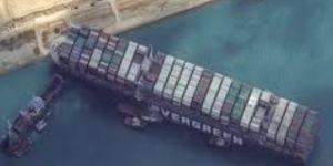 بقرار قضائي هيئة قناة السويس ترفع الحجز التحفظي عن السفينة الجانحة إيفرجيفن