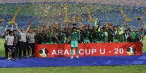 فرحة وطن: الأخضر السعودي الشاب يحقق كأس العرب لكرة القدم تحت 20 عاماً