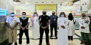 الرئيس التنفيذي لتجمع مكة المكرمة يقف على الخدمات المقدمة لضيوف الرحمن