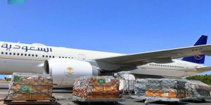 وصول الطائرة الإغاثية الثالثة إلى تونس ضمن الجسر الجوي السعودي