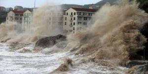 إعصار شانتو يضرب وسط وشرق اليابان