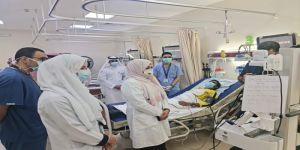 لأول مرة في المملكة: تدشين جهاز الطب الإتصالي للسكتة الدماغية بمستشفى أجياد للطوارئ