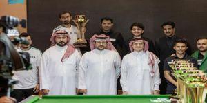 أخضر البلياردو يختتم مشاركته في البطولة الخليجية بتحقيق 4 ميداليات