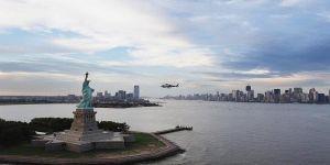 إخلاء تمثال الحرية في نيويورك بعد وجود جسم مريب