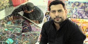 الرسام السعودي العالمي عبد الله قنديل يقيم معرضه على هامش منتدى الغد الأحد