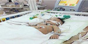 نقل طفل «غيبوبة الختان» من جازان إلى جدة