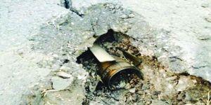 مقذوف عسكري من الأراضي اليمنية يصيب 3 عمال في الحرث