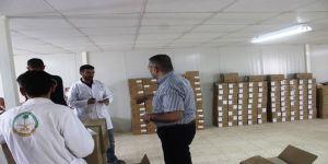 بتكلفة 120 الف ريال.. الحملة الوطنية السعودية توقع اتفاقية توريد الدفعة الـ 12 من المستلزمات الطبية لسكان الزعتري