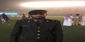 المطيري يحتفل بتخرجه من كلية الملك فهد الأمنية