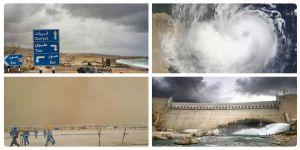 الارصاد العمانية : سوء حالة الطقس ووصول العاصفة المدارية اشوبا في سواحل السلطنة اليوم الخميس
