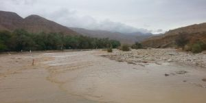 """أمطار ورياح """"أشوبا"""" تضرب عدة مناطق عمانية"""