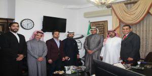 رئيس نادي الطلبة السعوديين بعمّان يستقبل ضيوف النادي ويطلعهم على أبرز الأنشطة والفعاليات المقدّمة للطلبة الدارسين لدى الجامعات الأردنية