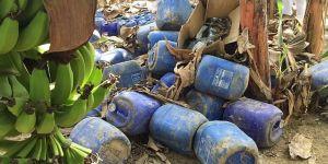 ضبط معمل لتصنيع المسكرات في إحدى مزارع جازان