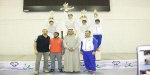 بوبشيت يتوج أبطال براعم السعودية للمبارزة
