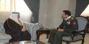 سمو سفير المملكة لدى الأردن يلتقي مستشار جلالة الملك عبدالله الثاني للشؤون العسكرية لبحث أوجه التعاون والتنسيق المشترك