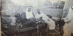 صورة نادرة للملك فهد بصبيا حينما كان وزيراً للداخلية