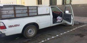 المدينة: القبض على آسيوي بحوزته 8 بلاطات حشيش