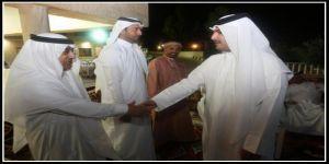 سفير قطر الشيخ بندر العطية يولم للسفراء والدبلوماسيين الخليجيين لدى الأردن على شرف المستشار عبدالعزيز السادة