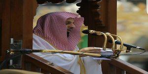إمام المسجد الحرام يدعو إلى حسن الخلق و الكلمة الطيبة
