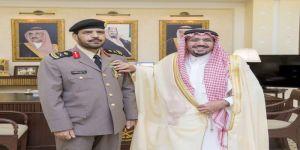 الأمير الدكتور فيصل بن مشعل يقلد مدير شرطة القصيم اللواء ال طالب نوط القيادة