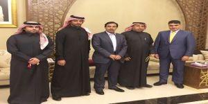 سفير قطر لدى الأردن يقيم مأدبة عشاء على شرف وزير الدولة السعودي لشؤون الخليج العربي وسفير قطر لدى العراق