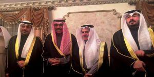 ولي عهد الكويت الشيخ نواف الأحمد الصباح شاهد على عقد قران أسرة الولدعي والبقان // بالفيديو والصور