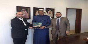 سفارة المملكة بالاردن تبحث ترتيبات موسم الحج للمواطنين السوريين لهذا العام ١٤٣٨هـ