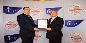 ورق تنشيف فاين - يحصل على شهادة ISEGA العالمية للاستخدام الآمن مع الغذاء لأول مرة في المنطقة العربية