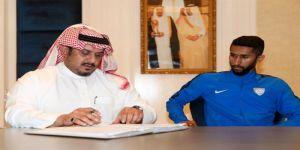 رسمياً : سلمان الفرج يوقع تجديد عقده مع الهلال لمدة اربعة اعوام