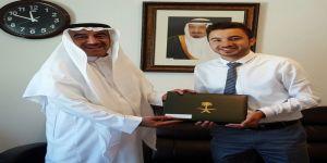 الملحق الثقافي السعودي بالأردن يكرّم طبيب الامتياز عبدالرحمن البيجاوي لتفوقه في الطب والجراحة من جامعة العلوم والتكنولوجيا