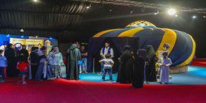 غرفة ابن الهيثم المظلمة تجذب زوار مهرجان أسوة