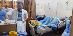 عصابات الحوثي والمخلوع يسرقون أدوية الكوليرا ويبيعونها على المرضى بالقوة