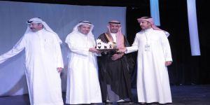تكريم الاسمر و الظافر والذويبي في افتتاح نشاط الجنادرية المسرحي
