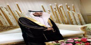 الشاب عبدالإله بن غالب العنزي يحتفل بزفافة