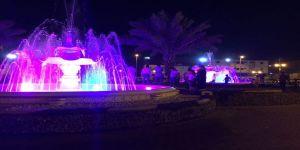 حديقة الفتح تلفت انظار أهالي الجموم لرئيس بلديتهم الجديد