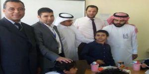 ابن الزميلة الإعلاميه حنان حسين يتماثل للشفاء ويعود لكرسي الدراسة