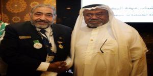 أبو البشر يتقلد وسام رواد الكشافة المصرية