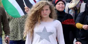 مشاهير العرب يعلنون التضامن مع #عهد_التميمي