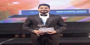 #مينا_عطا يتوّج بجائزة DG عن فئة أفضل مطرب شاب