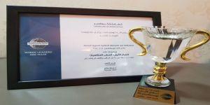 ندى منشي تحصد المركز الاول بمسابقة نادي لآليء التوستماسترز