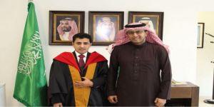 الدوسري أول طالب سعودي يحصل على أطروحة دكتوراه من الجامعة الأردنية في برنامج العلوم السياسية