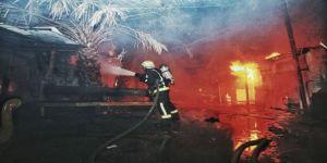 حريق في حي أم الجود ولا خسائر في الأرواح
