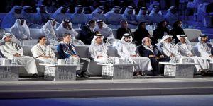 افتتاح الأولمبياد الإقليمي الخاص بحضور هزاع بن زايد بأبوظبي