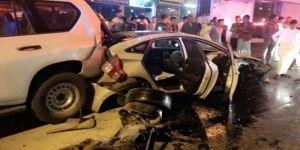 إصابة أربعة في حادث تصادم بالطائف