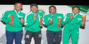 أبطال التتابع السعودي يتقلدون ذهبية منافسات البطولة العربية في عمان