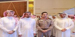 مدير جامعة جدة يكرم العقيد المنشاوي والعقيد ال ضبعان